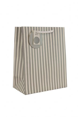 Silver Stripe Medium Bag